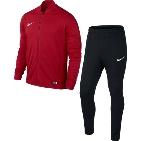 NIKE Academy16 Tracksuit 808760-657 UNIVERSITY RED/BLACK/GYM RED/WHITE